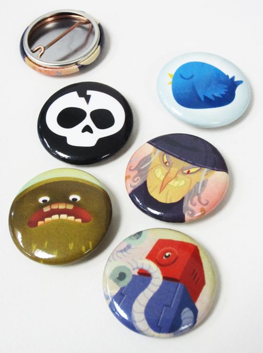 1 inch buttons!!!