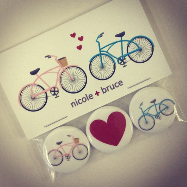 Ultra Adorable Custom Magnet Packages For Wedding Favours Best Wishes To Nicole And Bruce