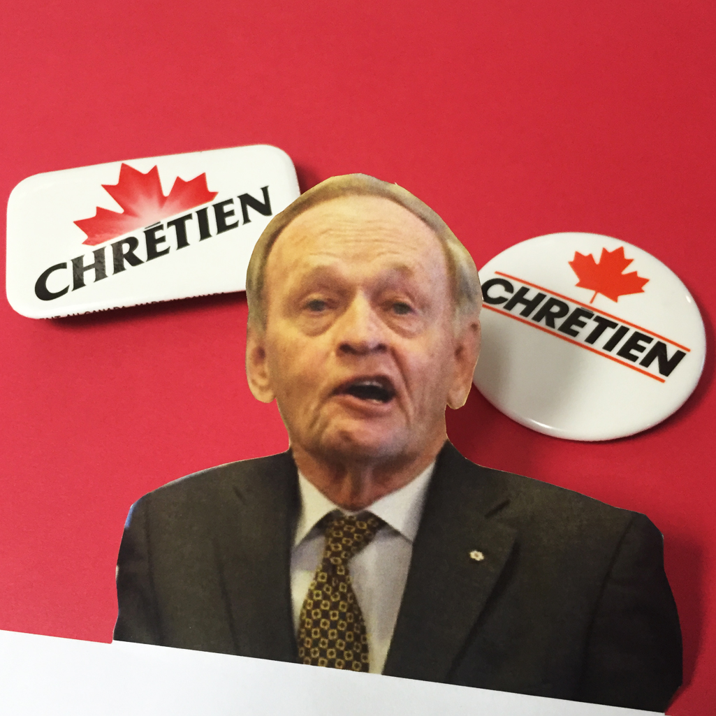 Jean Chretien for PM