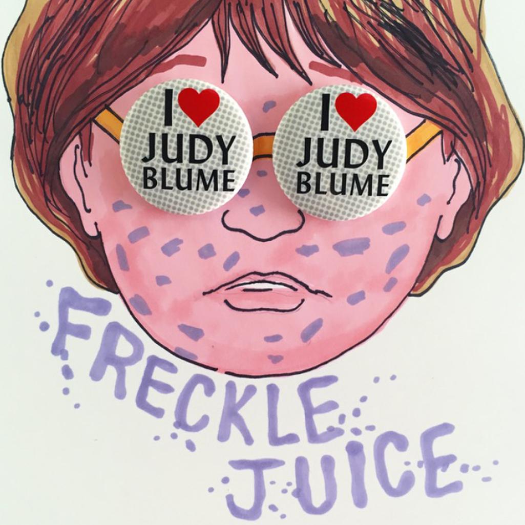 Judy Blume Buttons